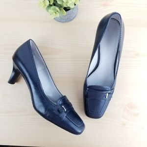 Etienne Aigner CASUAL HEEL, Navy Blue, Size 7